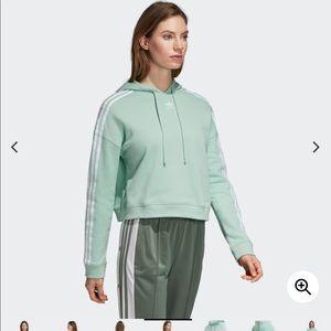 adidas Sweaters - Adidas light green hoodie